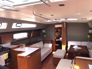 Aquavit VI 11  Beneteau Oceanis 60 for Sale - interior