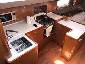 Aquavit VI 12  Beneteau Oceanis 60 for Sale - galley