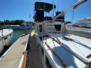 Sweet Life 1 Transom looking Starboard