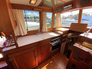Sweet Life 18 Galley looking Port