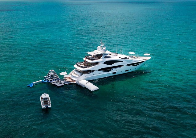 2. Sunseeker 131 Yacht with Tenders and Toys