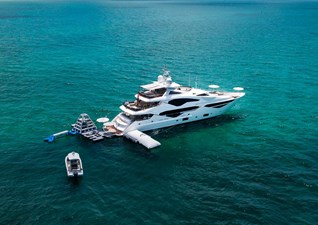 TC 1 2. Sunseeker 131 Yacht with Tenders and Toys