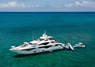 TC 2 3. Sunseeker 131 Yacht with Tenders and Toys