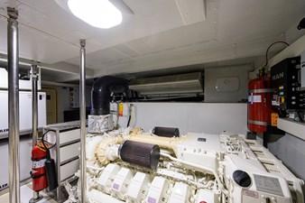 La Luce 42 Engine Room