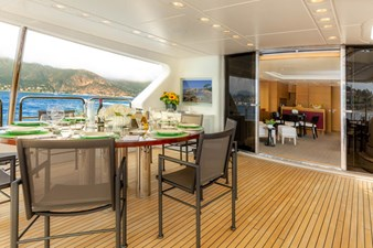 MINA yacht Benetti for sale BlackOrange15