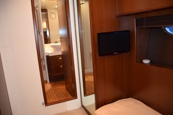MISSING CARD II 35 Stbd guest stateroom with TV