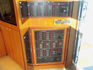 UNBRIDLED 3 Starboard Side Electrical Panel