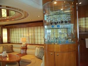 UNBRIDLED 7 Portside Glass Cabinet
