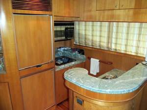 UNBRIDLED 9 Galley