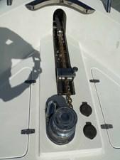 UNBRIDLED 39 Windlass Detail