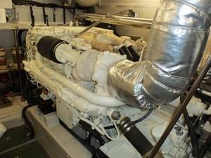UNBRIDLED 69 Starboard Engine