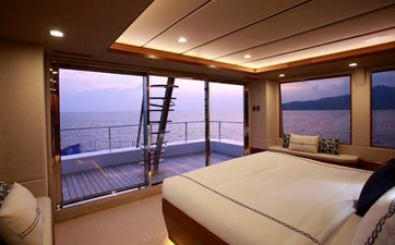 Owner's Stateroom & Private Aft Terrace