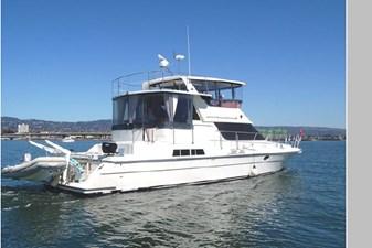 Resolute 1 Resolute 1995 PRESIDENT YACHTS Aft Cabin Cockpit Motoryacht Motor Yacht Yacht MLS #271287 1