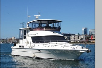 Resolute 2 Resolute 1995 PRESIDENT YACHTS Aft Cabin Cockpit Motoryacht Motor Yacht Yacht MLS #271287 2
