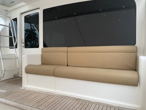 BANDIT 4 Aft deck seating