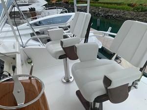 BANDIT 14 Flybridge helm chairs