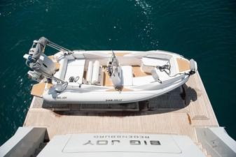 BIG JOY 17 Swiming platform & tender 1