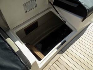 MARIKA 41 Engine Room Access