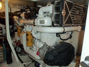 MARIKA 44 Starboard Engine