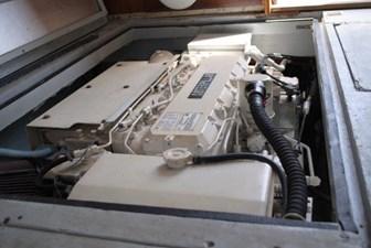 Joker II 18 Engine Room