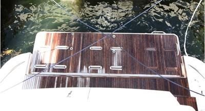 no name 26 Teak Deck Swim Platform