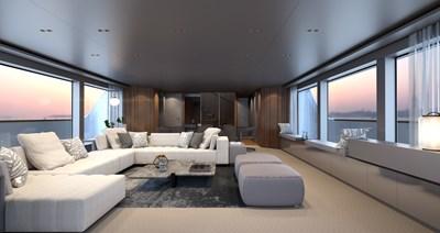 SD118/107 6 07_Sanlorenzo_SD118_salon_interior by Zuccon international Project