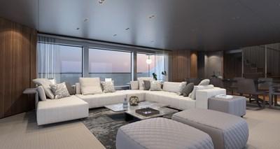 SD118/107 7 08_Sanlorenzo_SD118 salon_interior by Zuccon international Project