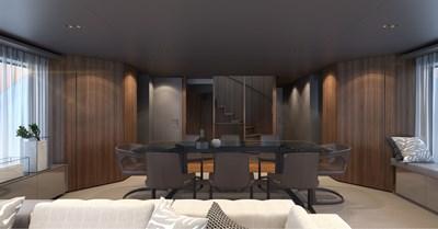SD118/107 8 09_Sanlorenzo_SD118_salon_interior by Zuccon international Project