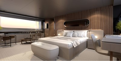 SD118/107 9 10_Sanlorenzo_SD118_owners cabin_interior by Zuccon international Project