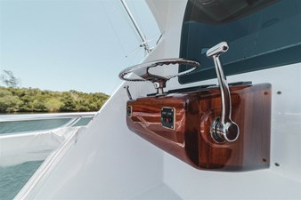 DR. DARK 59 Aft Controls with Single Lever Clutch and Throttle