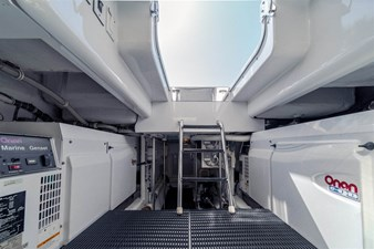 DR. DARK 66 Engine Room - Generators