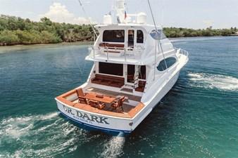 DR. DARK 76 Starboard Aft Quarter