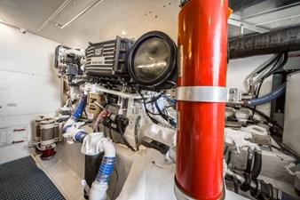 Summer Thunder  49 Engine Room