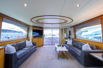 LIVING THE DREAM 4 Salon Looking Aft