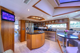 LIVING THE DREAM 9 Galley