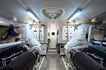 LIVING THE DREAM 50 Engine Room
