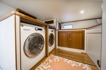 Katie Marie 42 Washer & Dryer Crew Quarters