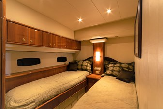 ARIEL 19 Starboard Side Guest Cabin