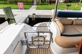 ARIEL 33 Starboard Transom Gate