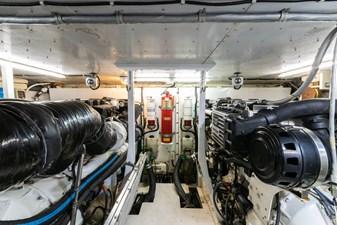 ARIEL 50 Engine Room Looking Forward