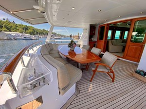 GAYLE FORCE 22 Main Deck Dining