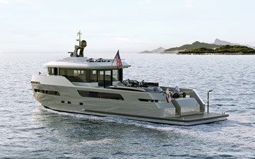 CROSSOVER 27 7 LYNX YACHTS 27m Crossover Exterior_2