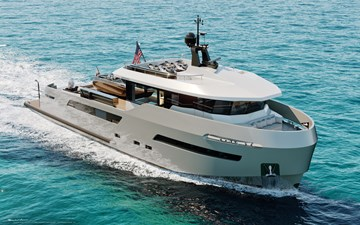 CROSSOVER 27 9 LYNX YACHTS 27m Crossover Exterior_5