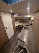 Vesper 18 Interior Salon and Galley