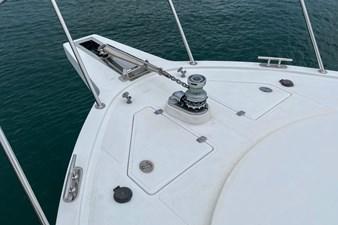 NO HURRY  41 Bow Windlass