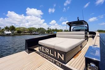 MERLIN 4 Stern / Swim Platform