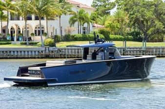 MERLIN 34 Starboard Profile