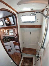 MYSTIC 11 Aft Shower, Looking Outboard
