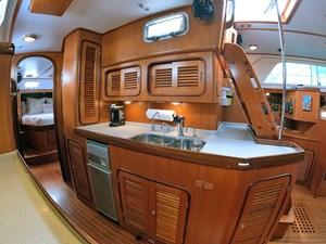 MYSTIC 17 Galley, Inboard