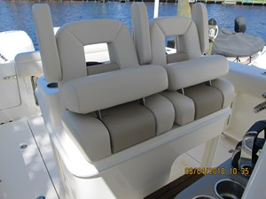- 9 Captain's chairs view 2